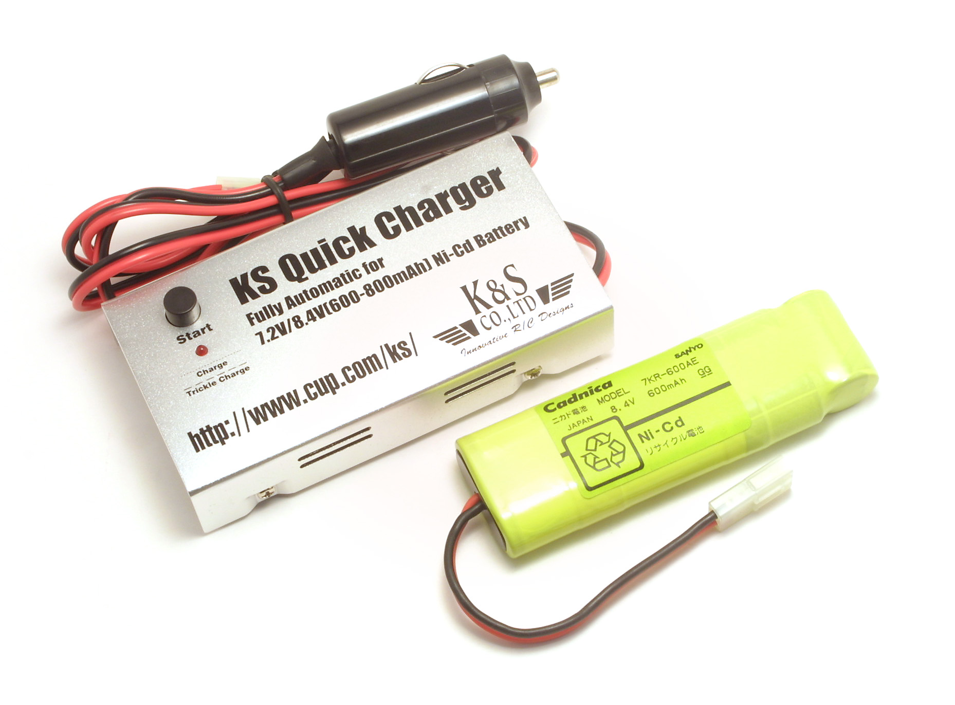 Discontinued Ks Rc Japan Radio Control Aircraft Car Nicad Battery Charger By Fet Irf9530 No Image