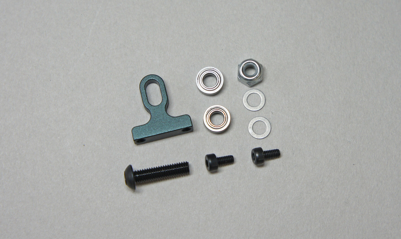 Mugen Seiki MTC1 Aluminum Lower Arm Mount 2 MUGA2144