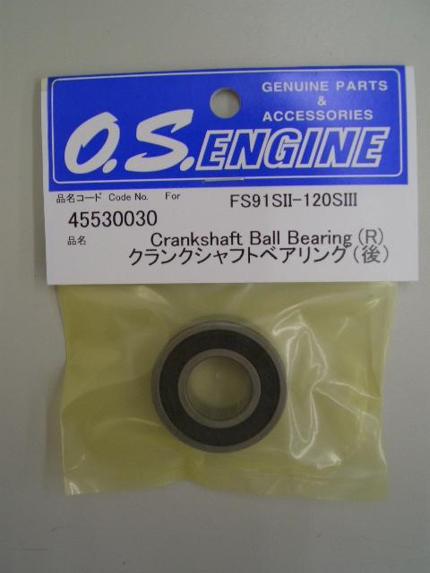 CRANKSHAFT BALL BEARING F 46VX,40VR,46VR # OS24530000 O.S Engines Genuine Part